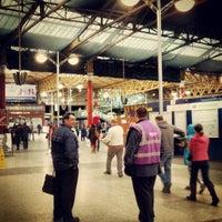 Photo taken at Manchester Victoria Railway Station (MCV) by Sean C. on 3/17/2013