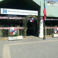 Photo taken at Servicio de Impuestos Internos by Maria Jose M. on 9/14/2012