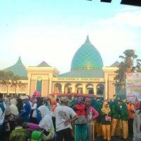 Photo taken at Masjid Nasional Al-Akbar by Kudi A. on 10/24/2014