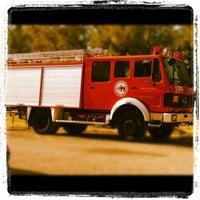 Снимок сделан в ΟΕΔΔ - Ομάδα Εθελοντών Δασοπυροσβεστών Διασωστών пользователем Irene K 🎈 9/30/2012