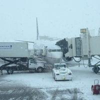 Photo taken at Gate B16 by Chris H. on 2/24/2013