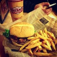 Photo taken at Jake's Wayback Burger by Eva-Christine M. on 1/10/2013