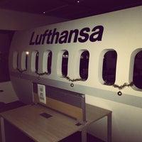 Photo taken at Lufthansa by Alexey T. on 12/16/2013