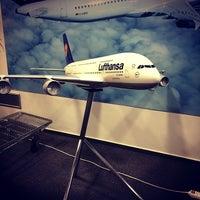Photo taken at Lufthansa by Alexey T. on 11/28/2013