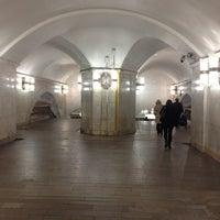 Photo taken at Metro Kiyevskaya, line 4 by Vladi D. on 9/29/2012