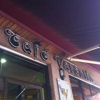 Photo taken at Café Valentín by Sara on 8/12/2013