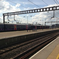 Photo taken at Luton Airport Parkway Railway Station (LTN) by David on 7/26/2013