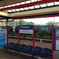 Das Foto wurde bei Bahnhof Eisenach von David am 7/12/2013 aufgenommen
