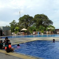 Photo taken at Total E&P Indonesie Swimming Pool by DS W. on 4/23/2014
