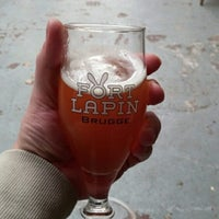 Photo taken at Brouwerij Fort Lapin by Daniel C. on 9/24/2014