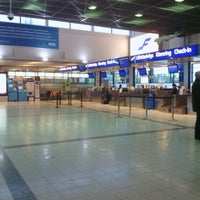 Photo taken at Turku Airport (TKU) by Constantine L. on 10/5/2012