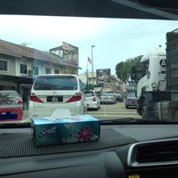 Photo taken at Simpang Empat Semabok by Hafiz H. on 2/6/2016