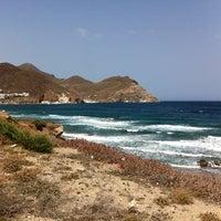 Photo taken at Playa de San José by Claudio D. L. on 7/1/2013