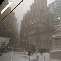 Photo taken at MTA Bus - Harrison St & Hudson St (M20) by Bobby A. on 12/14/2013