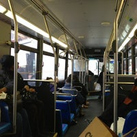 Photo taken at MTA Bus - Harrison St & Hudson St (M20) by Bobby A. on 12/22/2012