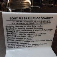 Photo taken at Sony Public Plaza by Bobby A. on 7/9/2013