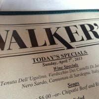 Photo taken at Walker's by Bobby A. on 4/7/2013