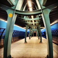 Photo taken at metro Ulitsa Gorchakova by Vasily T. on 6/9/2013
