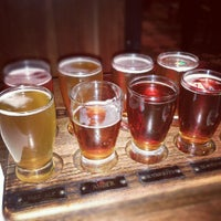 Photo taken at Water Street Brewery by Lindsay B. on 10/8/2012