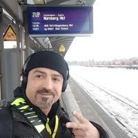 Photo taken at Bahnhof Wiesau (Oberpf) by Melik A. on 3/9/2017
