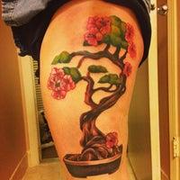 Photo taken at Jersey Tattoo Company by Mikayla on 4/22/2014