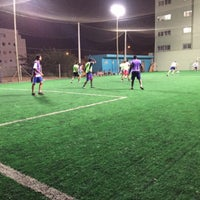 Photo taken at PS futebol society by Paulo F. on 7/29/2016