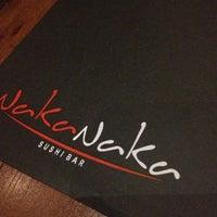Photo taken at Naka Naka Sushi Bar by More on 1/14/2013