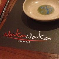 Photo taken at Naka Naka Sushi Bar by More on 12/8/2012