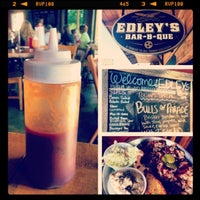 Photo taken at Edley's Bar-B-Que by Britni on 5/25/2013