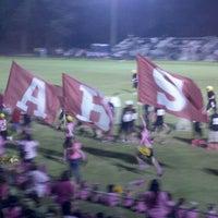 Photo taken at Abbeville High School by Chrystal K. on 10/6/2012