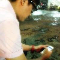 Photo taken at Car Wash Kampung Baru by Zarul on 12/25/2012