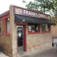 Photo taken at Frank's Diner by Mike T. on 9/25/2014
