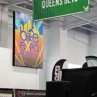 Photo taken at Bike Expo New York- Pier 36 by Roberto R. on 5/3/2014