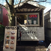 Photo taken at The Gaufre Gourmet by Kristi K. on 3/26/2015