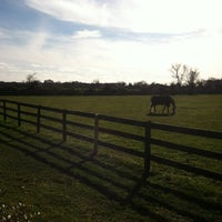 Photo taken at Wolffer Estate Stables by Diane on 11/18/2012
