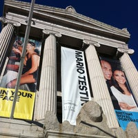 Photo taken at Museum of Finen Arts Mario Testino: In Your Face by Lawrence on 1/27/2013