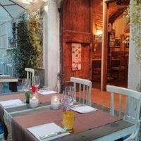 Photo taken at Taverna Napoleone by Nikolaj O. on 8/23/2013
