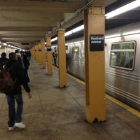 Photo taken at MTA Subway - Nostrand Ave (A/C) by DeAndre W. on 10/12/2012