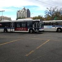 Photo taken at Williamsburg Bridge Bus Terminal by DeAndre W. on 10/12/2012