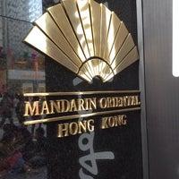 Photo taken at Mandarin Oriental, Hong Kong 香港文華東方酒店 by HyunJoo L. on 10/6/2013