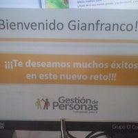 Photo taken at Grupo El Comercio - Plataforma Digital by GianFranco S. on 4/24/2014