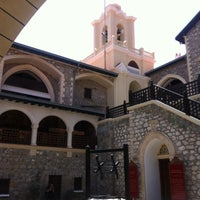 Photo taken at Kykkos Monastery by Anna D. on 6/8/2013