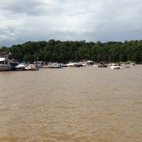 Photo taken at Sandbar At Lake Wylie by David on 7/6/2013