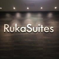 Photo taken at Ruka Suites by Svetlana Z. on 12/18/2012