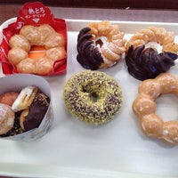 Photo taken at Mister Donut by Yuko A. on 1/18/2014