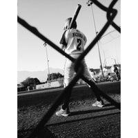 Photo taken at Hawkins Field by Rachel on 7/8/2013