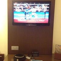 Photo taken at Hotel RIU Plaza by Carlos B. on 9/15/2013