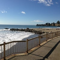 Photo taken at Capitola Beach by Alma A. on 1/26/2013