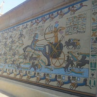 Photo taken at The Pharaonic Village by Dona-Maria on 6/15/2013
