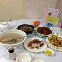 Photo taken at 陳六記飯店 by Yvette on 12/28/2012